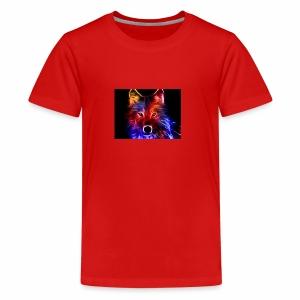 fire wolf - Kids' Premium T-Shirt