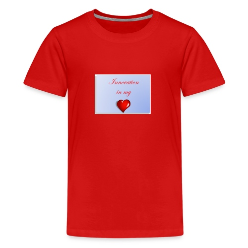 Innovation In my Heart - Kids' Premium T-Shirt