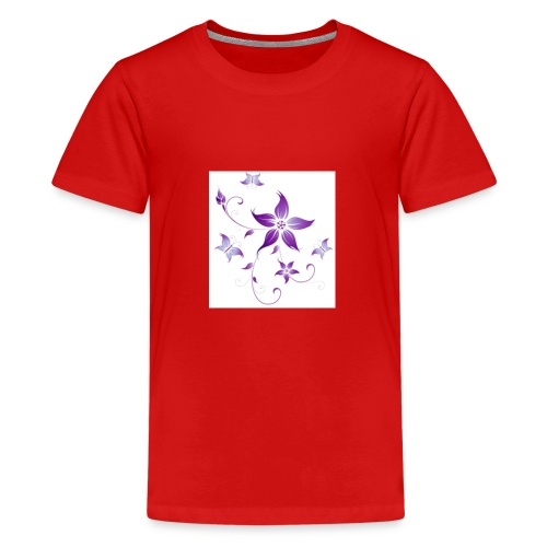 Purple beauty - Kids' Premium T-Shirt