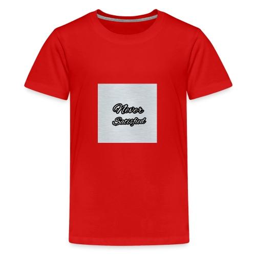 Slogan White Grey - Kids' Premium T-Shirt