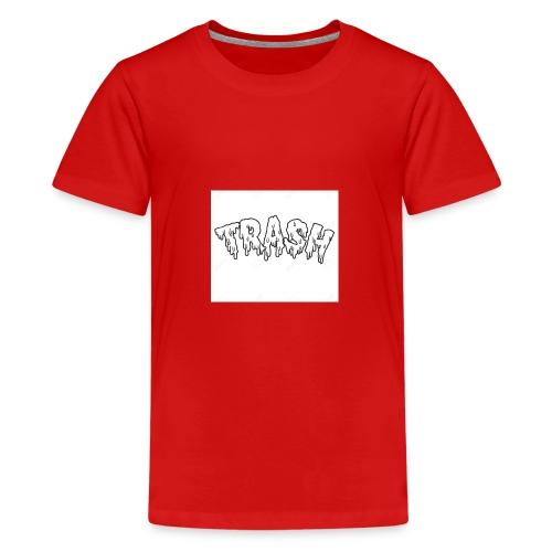 6.GODZZPRODUCTION u trash👾 - Kids' Premium T-Shirt