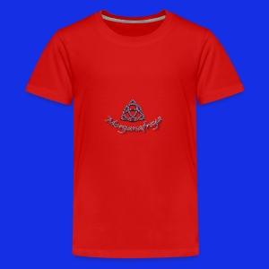 Morganafreya Celtic Knot Icon - Kids' Premium T-Shirt