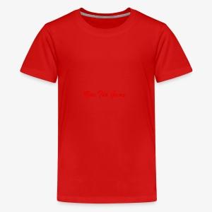 Run The Game Original Long Logo Design - Kids' Premium T-Shirt