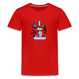 I am a gear - Kids' Premium T-Shirt