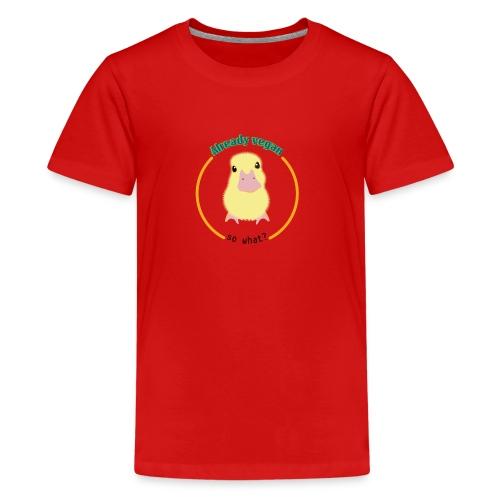 Vegan Duck - Kids' Premium T-Shirt
