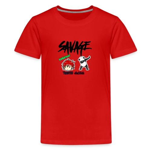 LUCKY MT logo - Kids' Premium T-Shirt