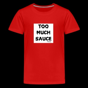 TOO MUCH SAUCE FLAMINFYE© - Kids' Premium T-Shirt