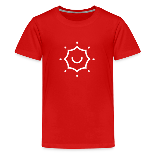 Solar Flair Icon + TheeFeelGoods - Thefeelgoodflow - Kids' Premium T-Shirt