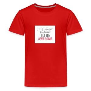 Back to school - Kids' Premium T-Shirt
