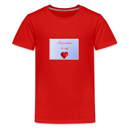 Innovation In my Heart - Kids' Premium T-Shirt