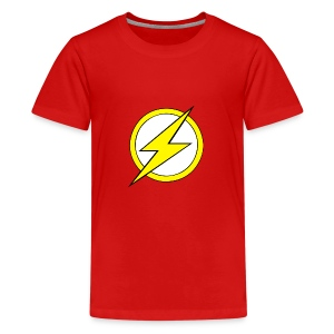 Kid Flash Logo - Second Channel - Kids' Premium T-Shirt