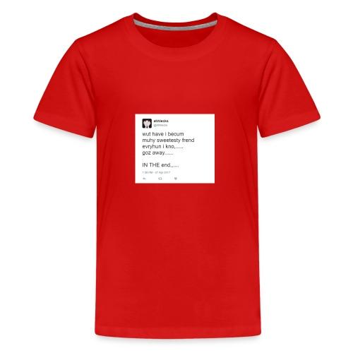 disgusting twitter ... - Kids' Premium T-Shirt