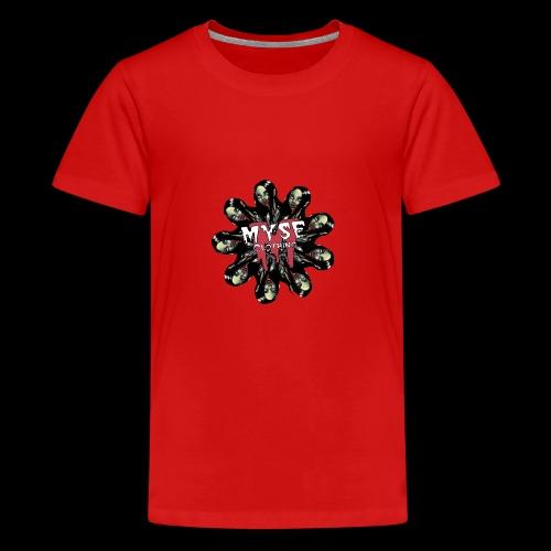 MYSE Clothing - zombie mandala - Kids' Premium T-Shirt