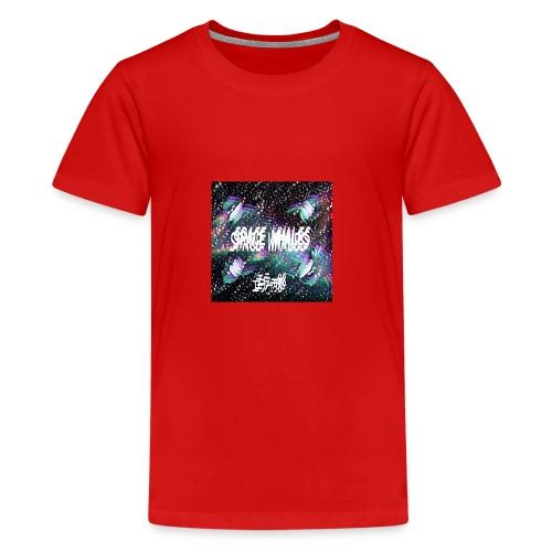 Space Whales Album Cover - Kids' Premium T-Shirt