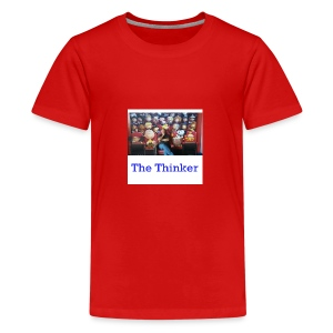 the thinker - Kids' Premium T-Shirt