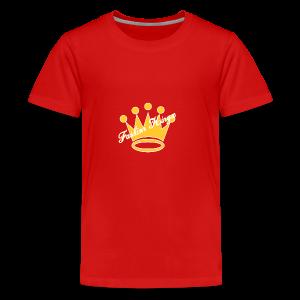 Fashion Kingz Clothing Official Crown Logo - Kids' Premium T-Shirt