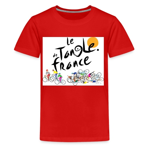 Le Tangle de France - Kids' Premium T-Shirt