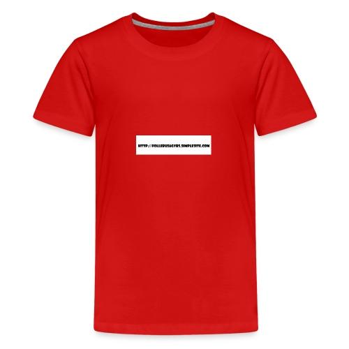 Nettadresse follebuvbs - Kids' Premium T-Shirt