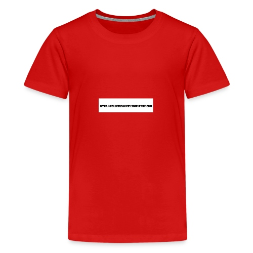 Nettadresse follebuvbs - Kids' Premium T-Shirt