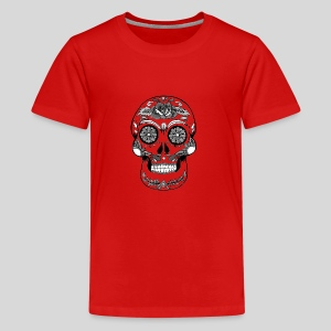 Catrina Black & White - Kids' Premium T-Shirt