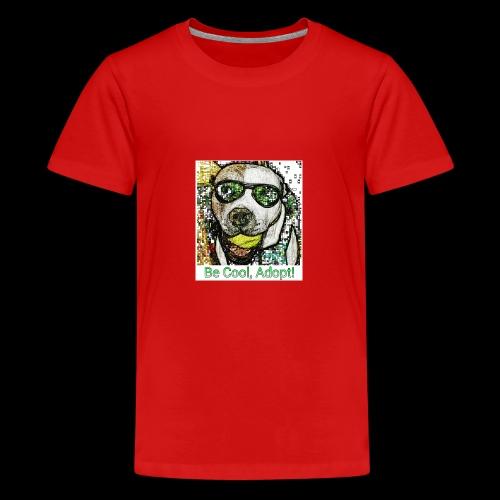 Be Cool, Adopt! - Kids' Premium T-Shirt