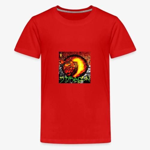 Damian Dragon Logo - Kids' Premium T-Shirt