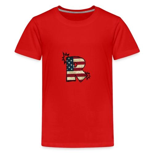 SuppzReviews R Logo - Kids' Premium T-Shirt
