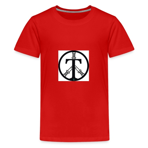 Tough Tag T-shirts - Kids' Premium T-Shirt