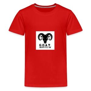The goat 🐐 - Kids' Premium T-Shirt