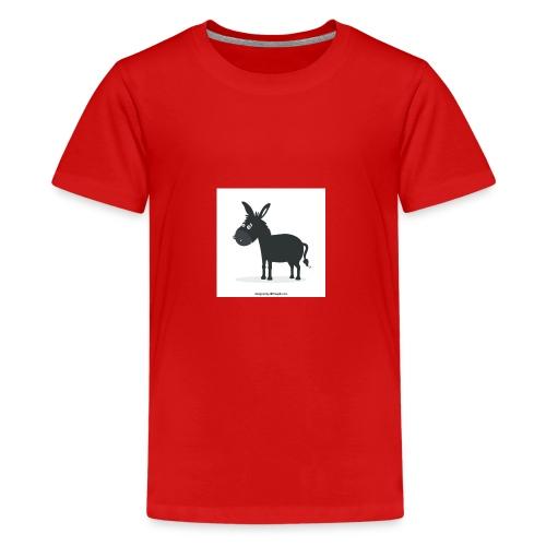 Awesome donkey animated - Kids' Premium T-Shirt
