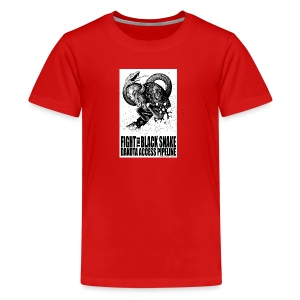 Fight the Black Snake NODAPL - Kids' Premium T-Shirt