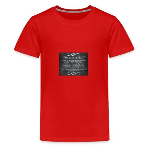 Inspirational Scripture Wear - Kids' Premium T-Shirt