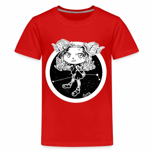Aries Original Zodiac Sign - Kids' Premium T-Shirt