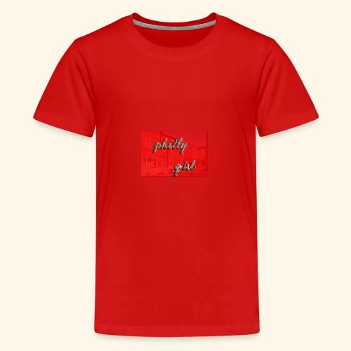 phillygirlredrow - Kids' Premium T-Shirt