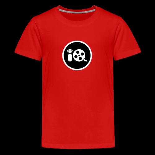 Filmmaker IQ Black Emblem - Kids' Premium T-Shirt