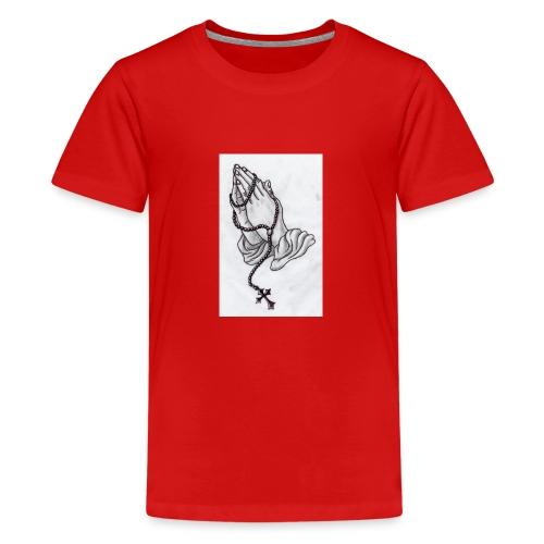 praying hands - Kids' Premium T-Shirt