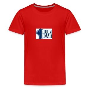 Blue Bear logo - Kids' Premium T-Shirt