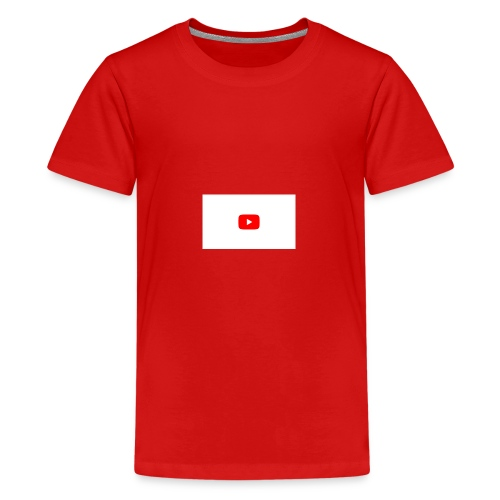 YouTube icon - Kids' Premium T-Shirt