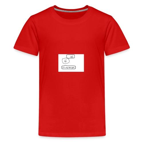 Derp Face! - Kids' Premium T-Shirt