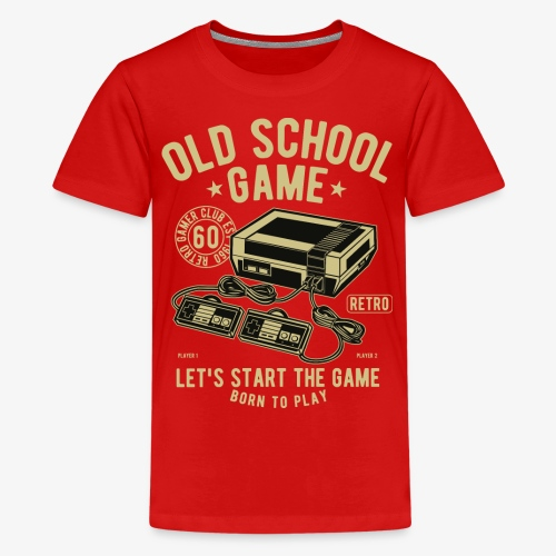Old School Game - Kids' Premium T-Shirt