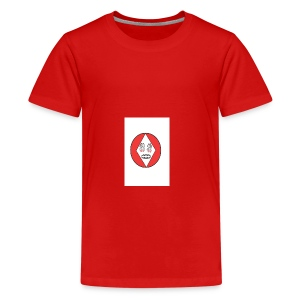 Red white reccklezz exchange - Kids' Premium T-Shirt