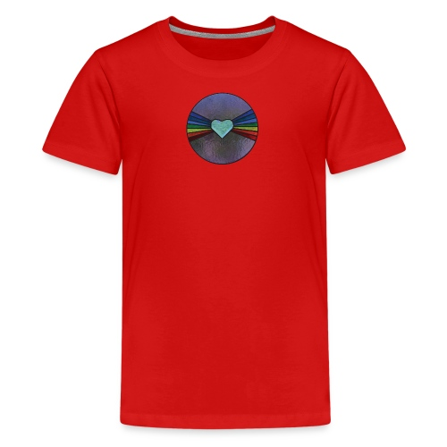 Rainbow Heart - Kids' Premium T-Shirt
