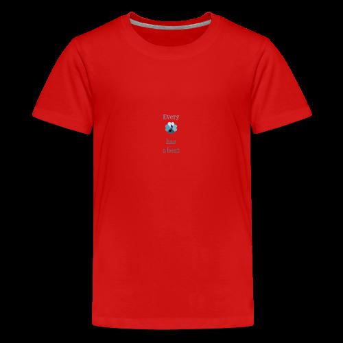 every heart has a beat - Kids' Premium T-Shirt