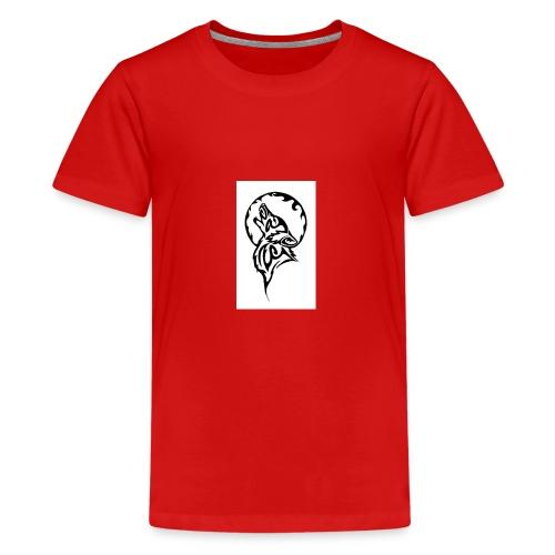 dark wolf - Kids' Premium T-Shirt