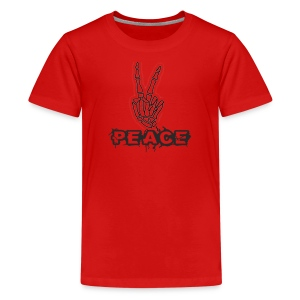 Skelly Peace - Kids' Premium T-Shirt