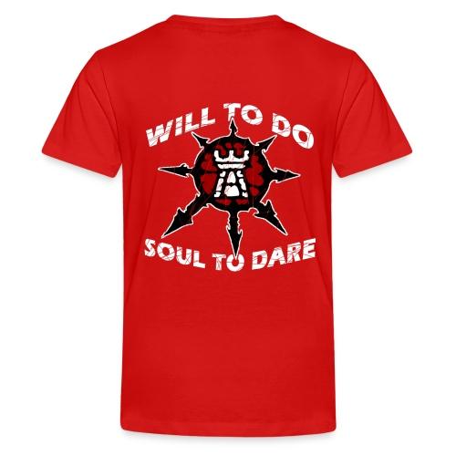 Task Force Havoc Logo and Motto - Kids' Premium T-Shirt