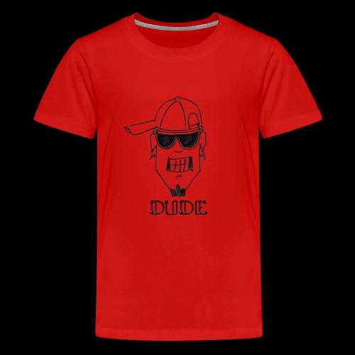 Dude Head 2 - Kids' Premium T-Shirt