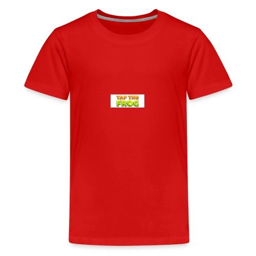 Tap the frog - Kids' Premium T-Shirt