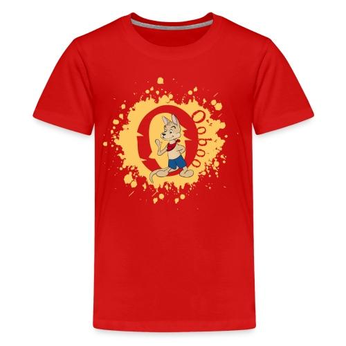 Ooboo spreadshirt design 3 01 png - Kids' Premium T-Shirt