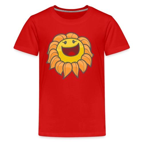 Happy sunflower - Kids' Premium T-Shirt